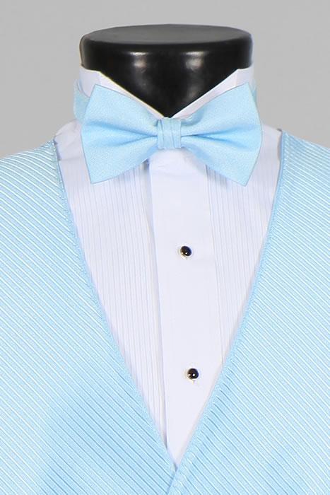 896cea81766 Light Blue Vest & Light Blue Bow Tie – Tux for you